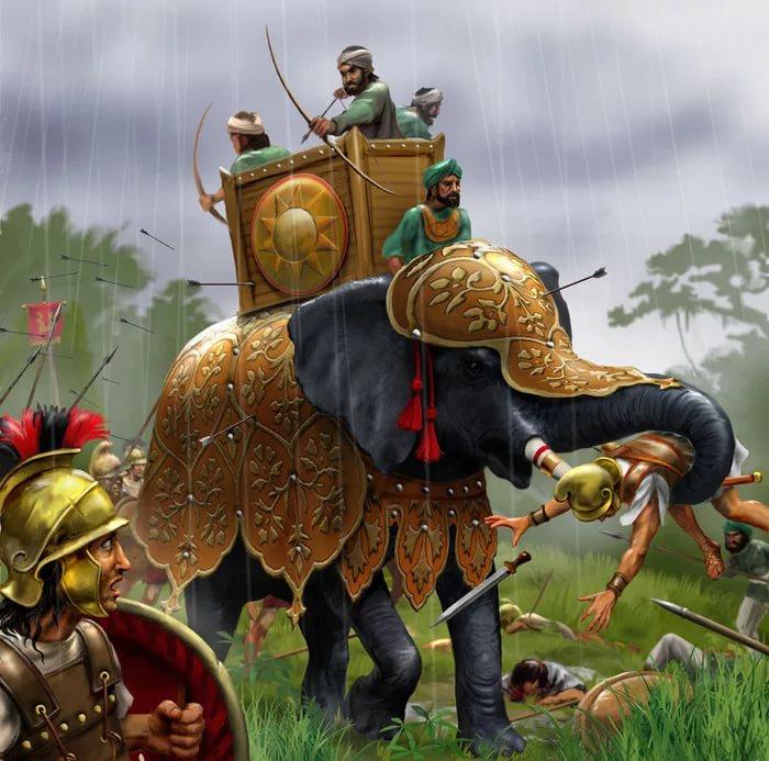 боевые слоны