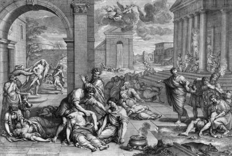Черная смерть - чума в Европе. След в сознании европейцев