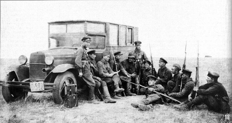 мотобригада в монголии Победа на Халхин-Голе