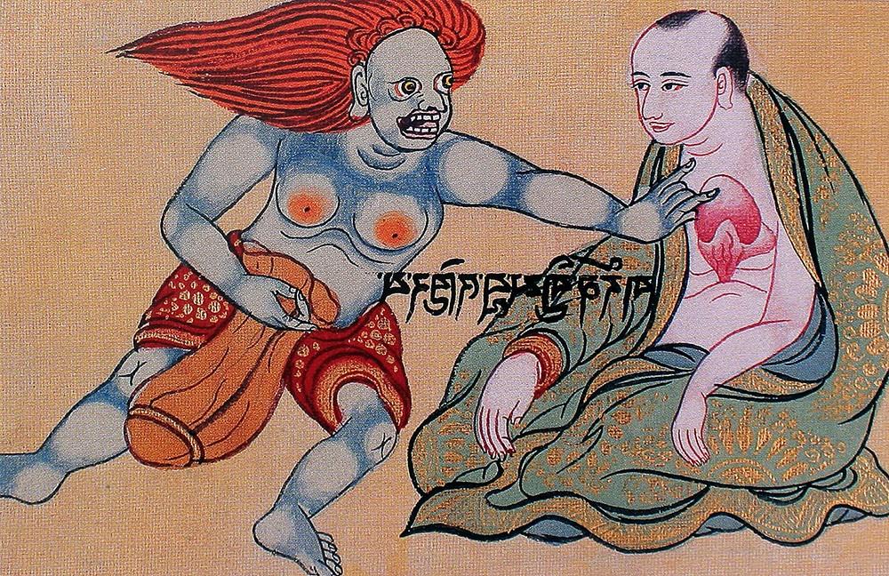 тибетская астрология дух ворует здоровье