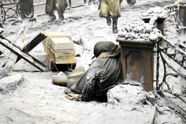 трагедия блокады Ленинграда