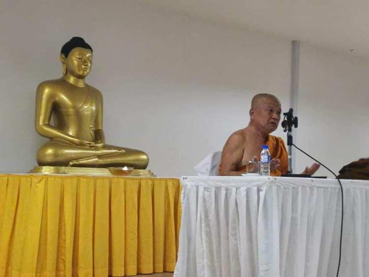 Аджан Вимоккха Тайланд выступление