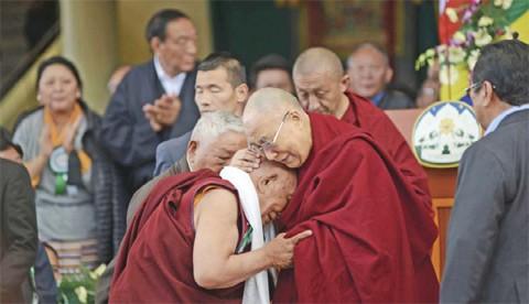 Далай Лама и Еше Донден