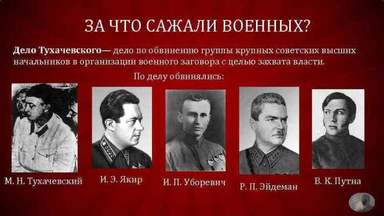 дело Тухачевского