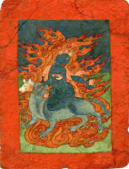 демоны тибета