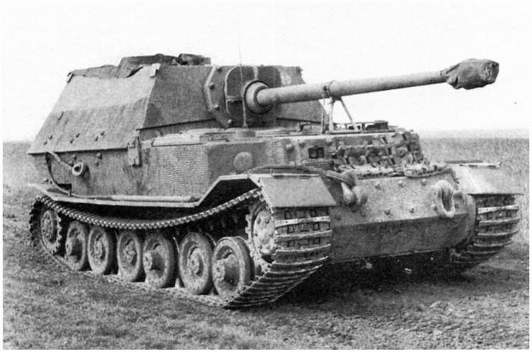 Фердинанд танк Рейха