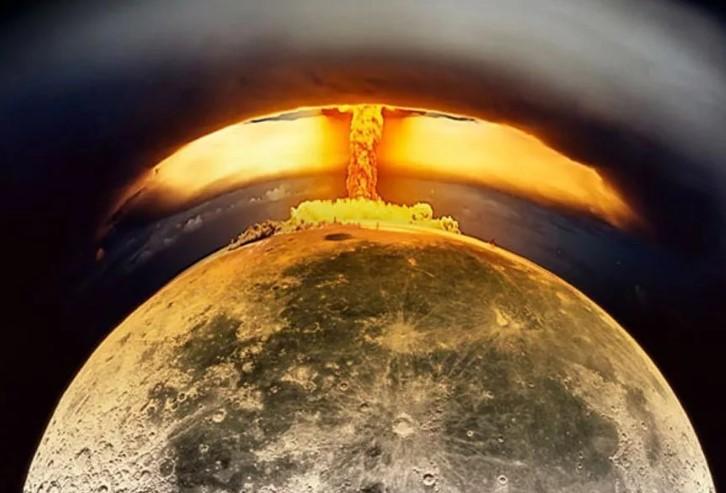 Атомный Взрыв на Луне Проект США Эпохи Холодной Войны