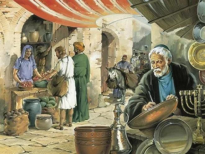 торговля евреев