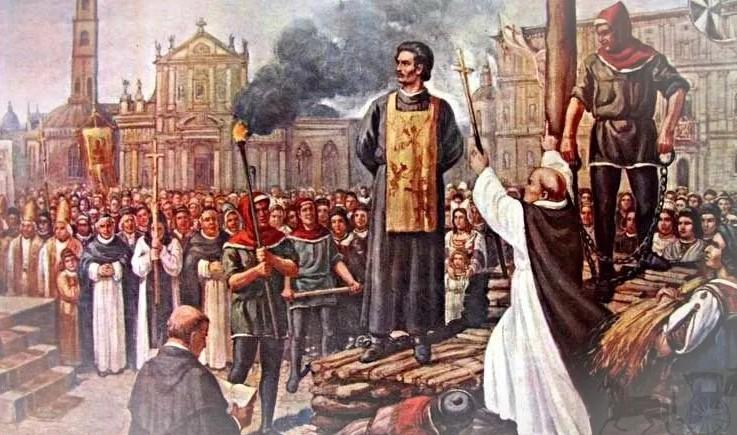 итальянский монах-доминиканец Джордано