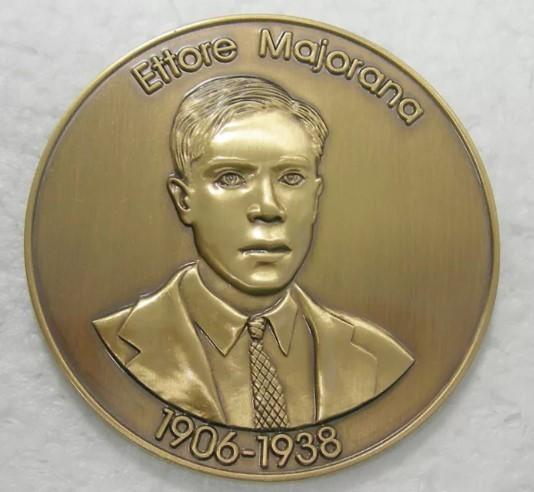 Этторе Майорана медаль