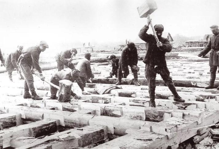 стройка Ленина