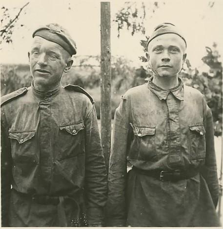 солдатики в плену