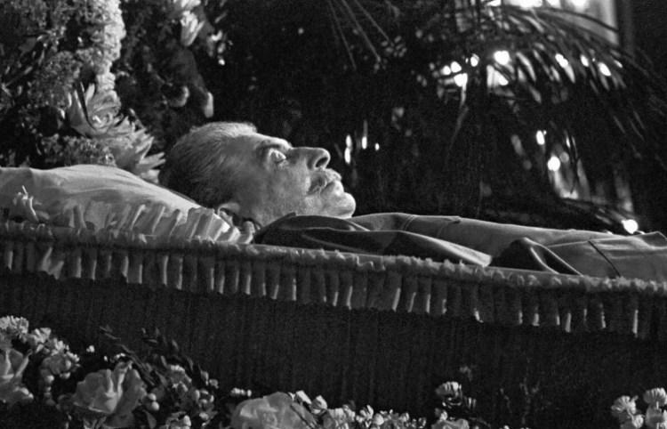 Как убивали товарища Сталина