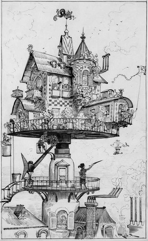 города будущего 19 век