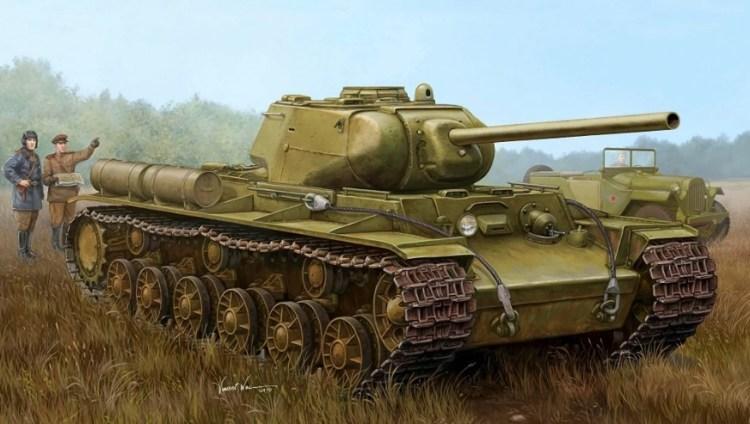 Танки КВ-1С