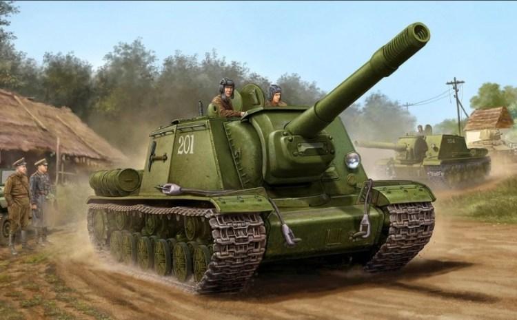 «зверобой» СУ-152