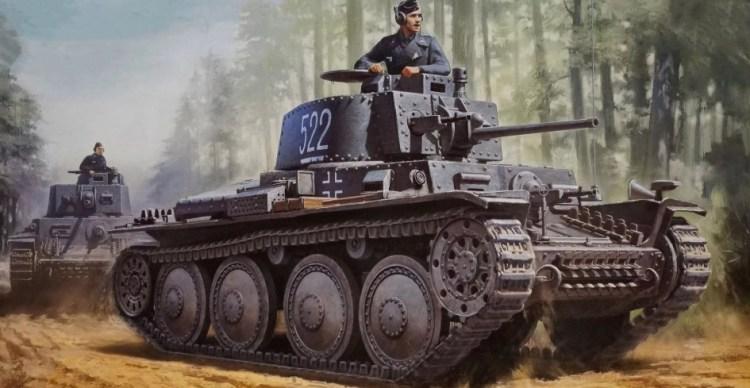 Танк панцер 38