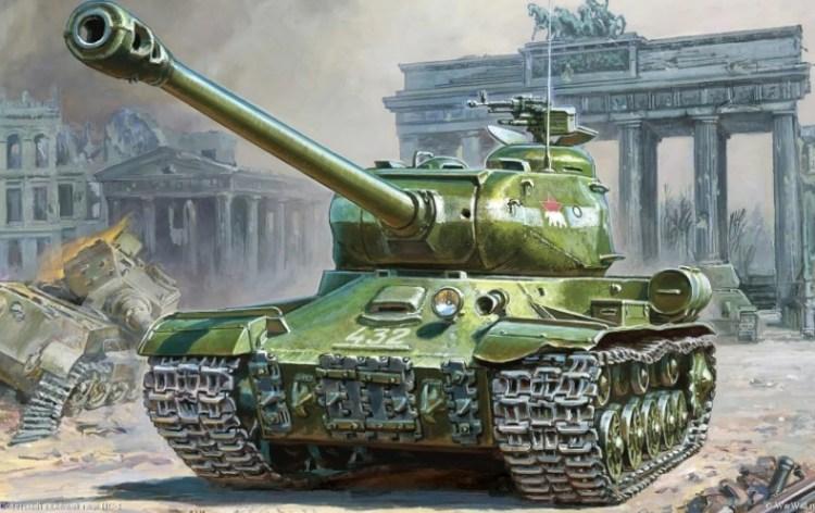 Танк ИС-2 Берлин
