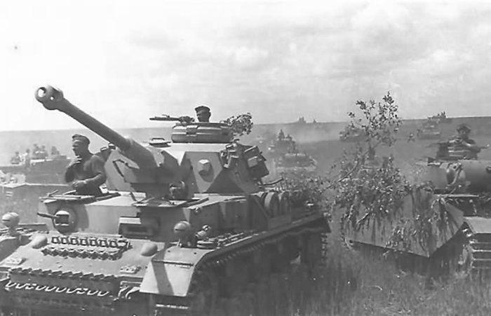 немецкие танки в Польше