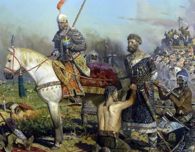 татаро монгольское иго пленение русича
