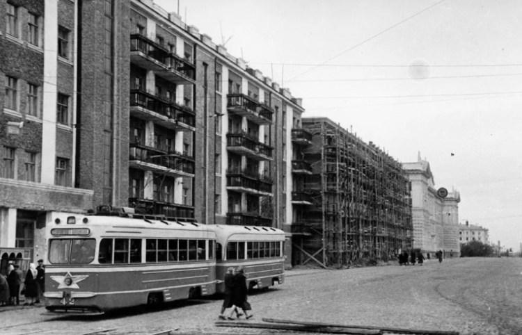 Минск улицы после войны