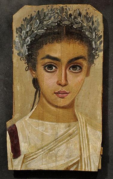 Любой из фаюмских портретов, как бы живописен он ни был, остается ритуальным, связанным с мумией.