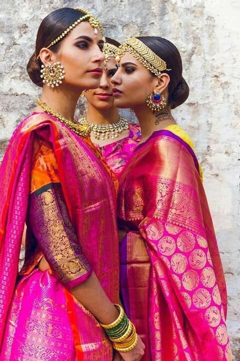 красотки в Индии