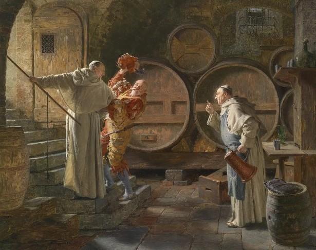 виноделие монахов