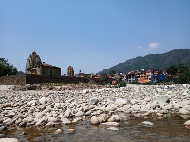 Панчбакхтар Темпл Panchbakhtar Temple наводнения