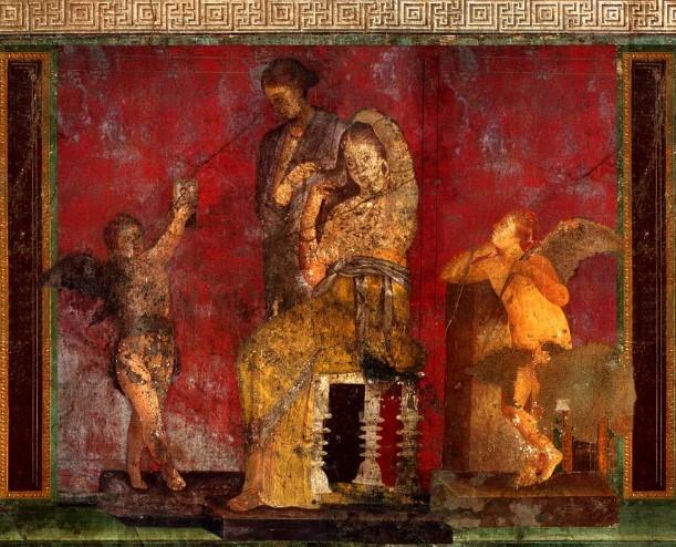 Римская настенная живопись