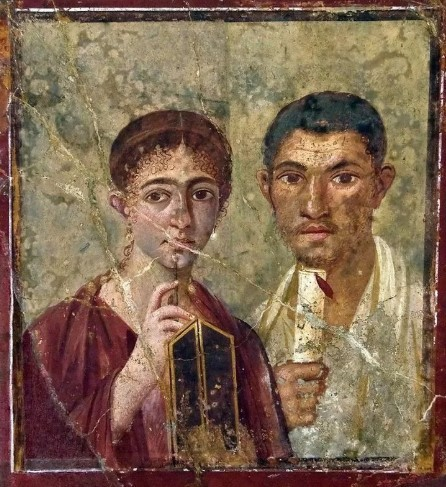 Классификацией фресок в Помпеях