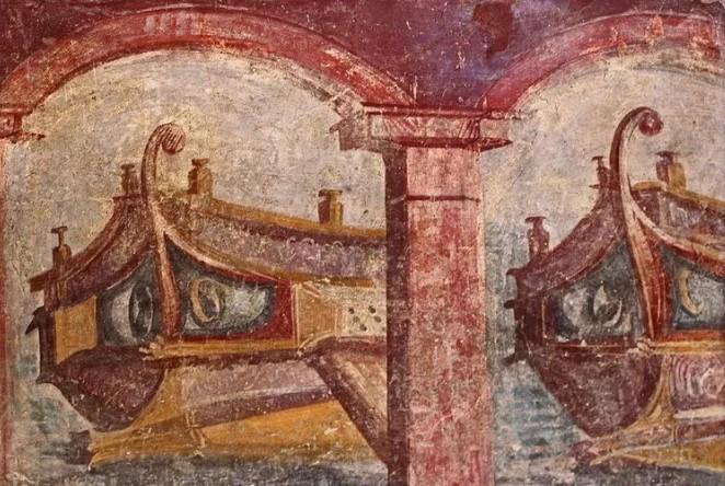 Фрески Помпеи были обнаружены в домах состоятельных жителей
