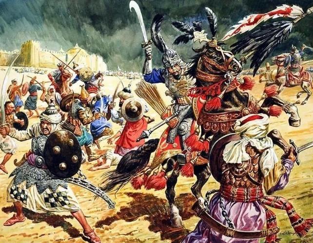 сражение с татарами Тамерлана