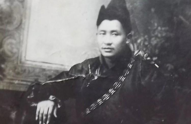 Соодой Лама в молодости