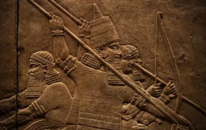 древне шумерские войска