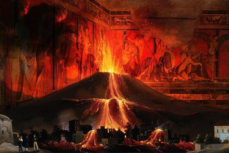 Помпейские Фрески - Уничтоженное Государство Вулканом Везувием