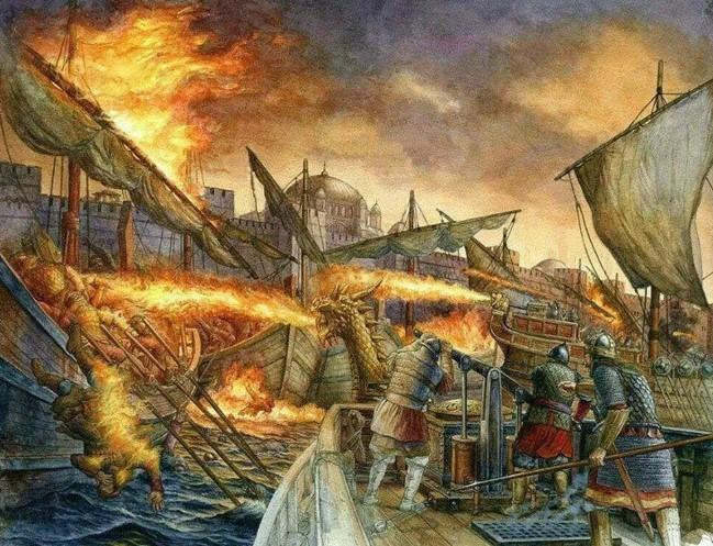 Чудо-оружие Греческий Огонь