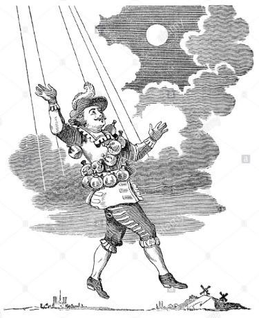 Сирано де Бержерак летит по небу