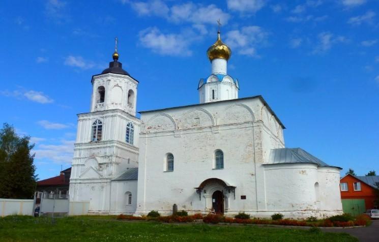 суздаль Васильевский монастырь