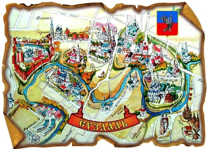 Город Суздаль туризм