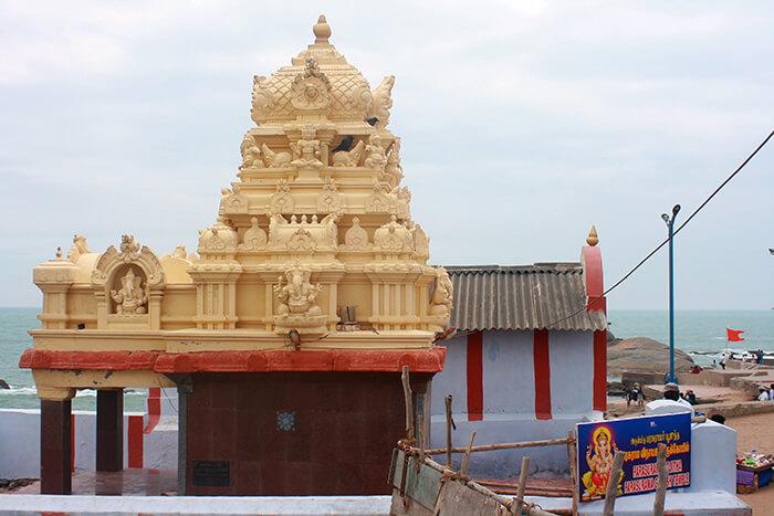 Каньякумари Прекрасный Город Индии на Краю Континента