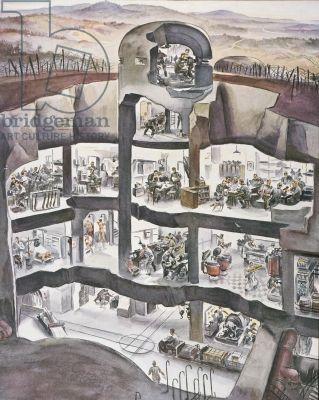 Подземное укрытие нацистов База 211