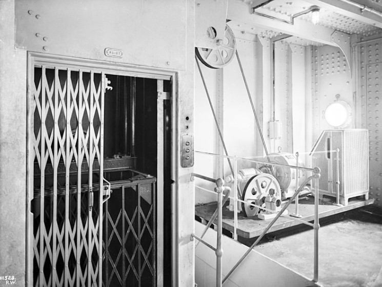 Машинный зал Титаника