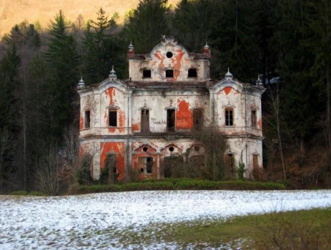 Дом с привидениям в Италии, в чьих стенах произошло убийство