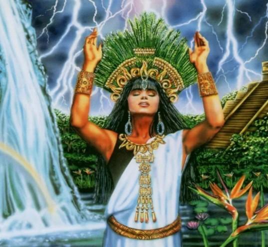 богиня Тепев