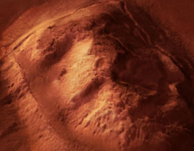 Сфинкс на Марсе. Известен снимок американского «Викинга»