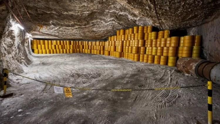 Проект «горячая капля». Радиоактивные отходы к центру Земли