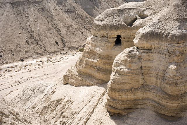 qumran caves israel deadseascrolls bible essenes hebrew... (Фото tigrić на Flickr)
