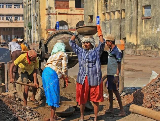 каменщики Индии