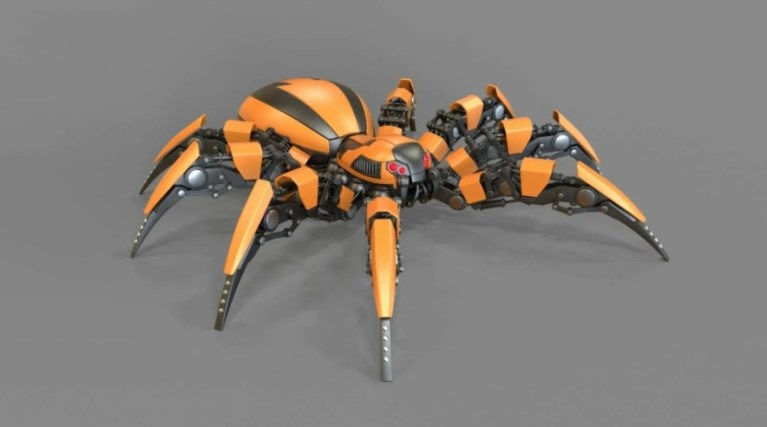 Робот-стеноход. Кибернетический пожарный 2021 года
